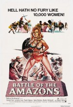 Amazonların Savaşı (1973) afişi