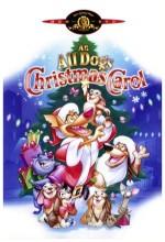 An All Dogs Christmas Carol (1998) afişi