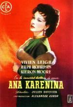 Anna Karenina (1948) afişi