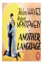 Another Language (1933) afişi