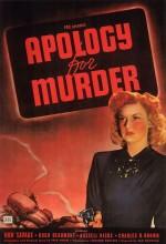 Apology For Murder (1945) afişi
