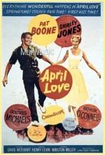 April Love (1957) afişi