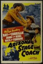 Arizona Stage Coach (1942) afişi