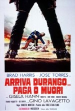 Arriva Durango, Paga O Muori (1971) afişi