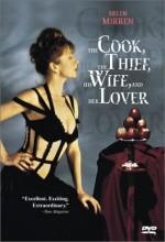 Aşçı, Hırsız, Karısı Ve Aşığı (1989) afişi