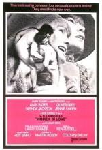 Aşık Kadınlar (1969) afişi
