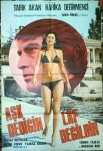 Aşk Dediğin Laf Değildir (1976) afişi