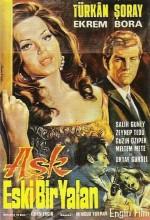 Aşk Eski Bir Yalan (1968) afişi
