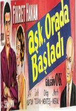 Aşk Orada Başladı (1962) afişi
