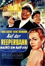 Auf Der Reeperbahn Nachts Um Halb Eins (1954) afişi
