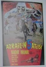 Azrailin Beş Atlısı (1971) afişi