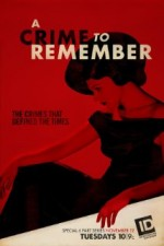 A Crime to Remember (2013) afişi