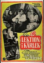 A Lesson In Love (1954) afişi