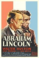 Abraham Lincoln (1930) afişi