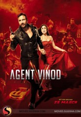 Agent Vinod (2012) afişi