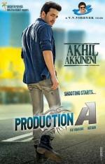 Akhil (2015) afişi