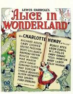 Alice Harikalar Diyarında (1933) afişi