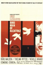 Alkatraz Kuşçusu (1962) afişi