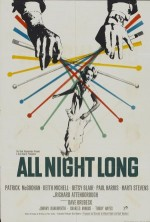 All Night Long (1962) afişi