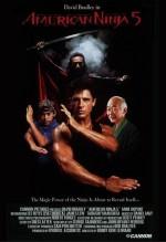 Amerikan Ninja 5 (1993) afişi