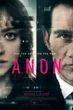 Anon (2018) afişi