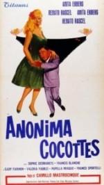 Anonima cocottes (1960) afişi