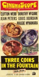 Aşk Çeşmesi (1954) afişi