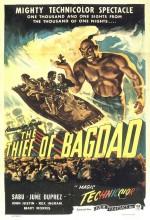 Bağdat Hırsızı (1940) afişi