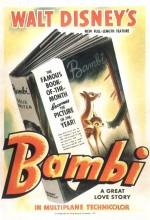 Bambi (1942) afişi