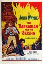 Barbar Ve Geyşa (1958) afişi
