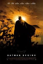 Batman Başlıyor (2005) afişi