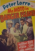 Bay Moto Tehlikeli Adada (1939) afişi