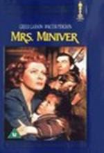 Bayan Miniver (1942) afişi