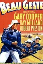 Beau Geste (1939) afişi