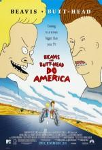 Beavis And Butt-Head Do America (1996) afişi