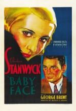 Bebek Yüz (1933) afişi