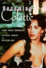 Becoming Colette (1991) afişi
