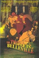 Belleville'de Randevu (2003) afişi
