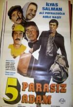 Beş Parasız Adam (1980) afişi