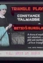 Betsy's Burglar (1917) afişi