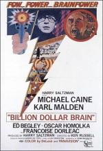 Billion Dollar Brain (1967) afişi