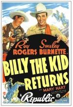 Billy The Kid Returns (1938) afişi