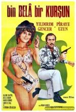 Bin Bela Bir Kurşun (1971) afişi