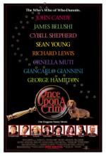 Bir Zamanlar Suç Vardı (1992) afişi