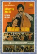 Bitmiyor Zulüm (1987) afişi