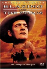 Blazing Across The Pecos (1948) afişi