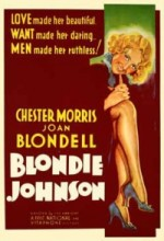 Blondie Johnson (1933) afişi