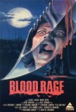 Blood Rage (1987) afişi