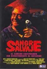 Blood Salvaje (1990) afişi