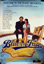 Blue in The Face (1995) afişi